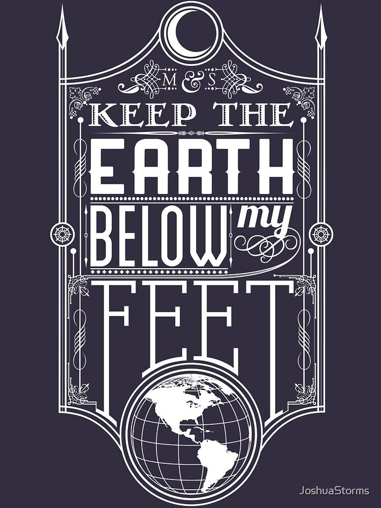 Mumford Typography (earth) | Unisex T-Shirt