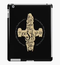 Free Skies (gold) iPad Case/Skin