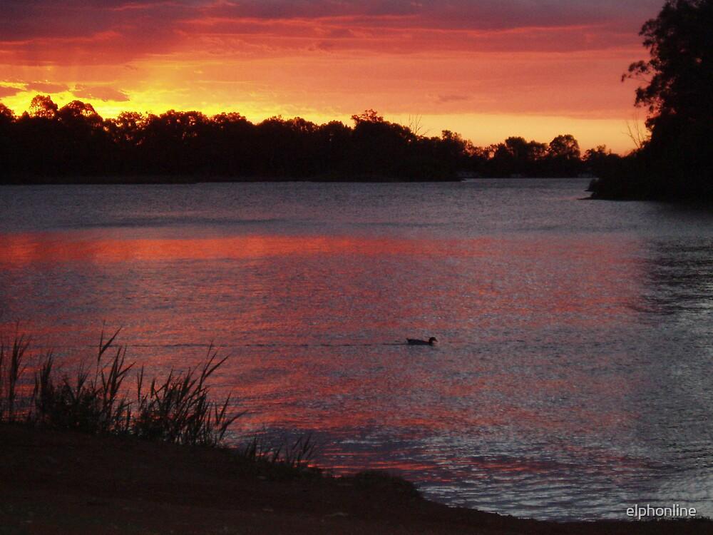 Renmark sunset by elphonline