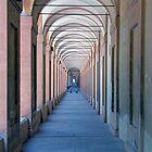 Portico di San Luca, Bologna, Italy by Chris Monks