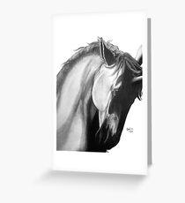 Lone Unicorn Greeting Card