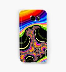 Tornadoes of Psychedelic Color Samsung Galaxy Case/Skin