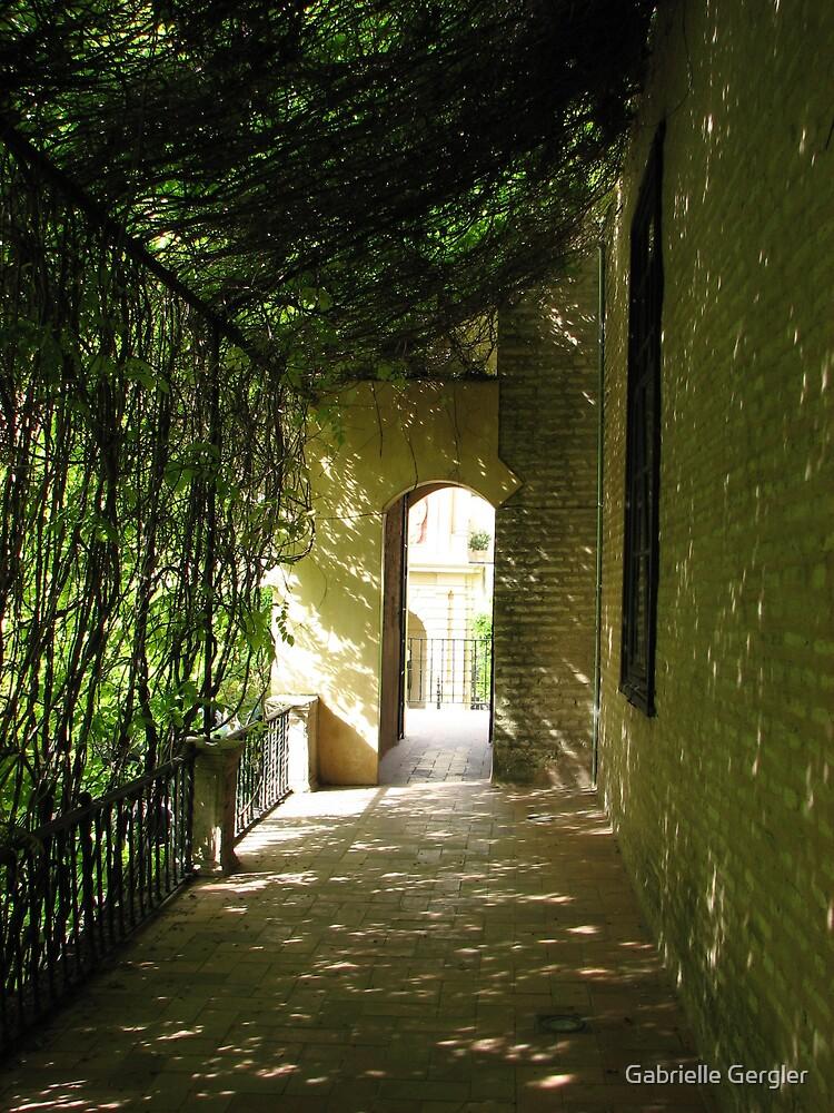 Green Tunnel by Gabrielle Gergler
