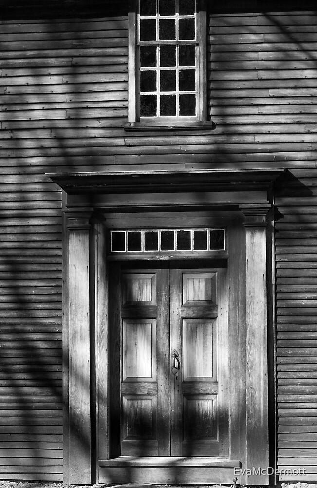 Hartwell Tavern Front Door by EvaMcDermott