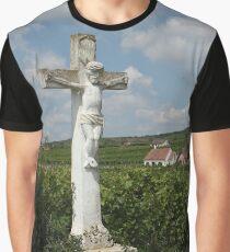 Wayside Cross At Feuersbrunn, Lower Austria Graphic T-Shirt