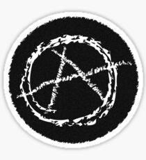 Alien Anarchy  Sticker