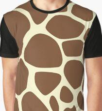 Giraffe Skin Graphic T-Shirt