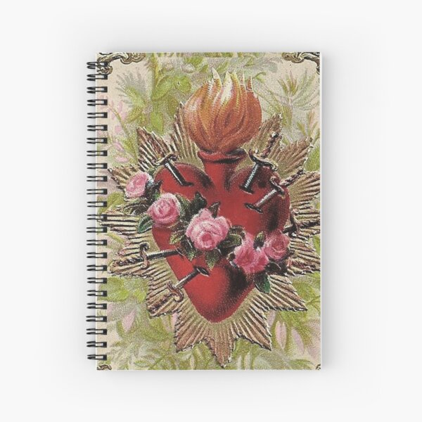 The Heart Is Sacred Spiral Notebook