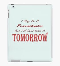 Funny Ironic Quote iPad Case/Skin