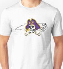 ECU Pirates Unisex T-Shirt