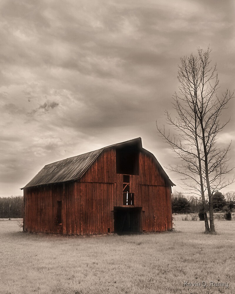 Rustic Barn by Kevin D. Raney