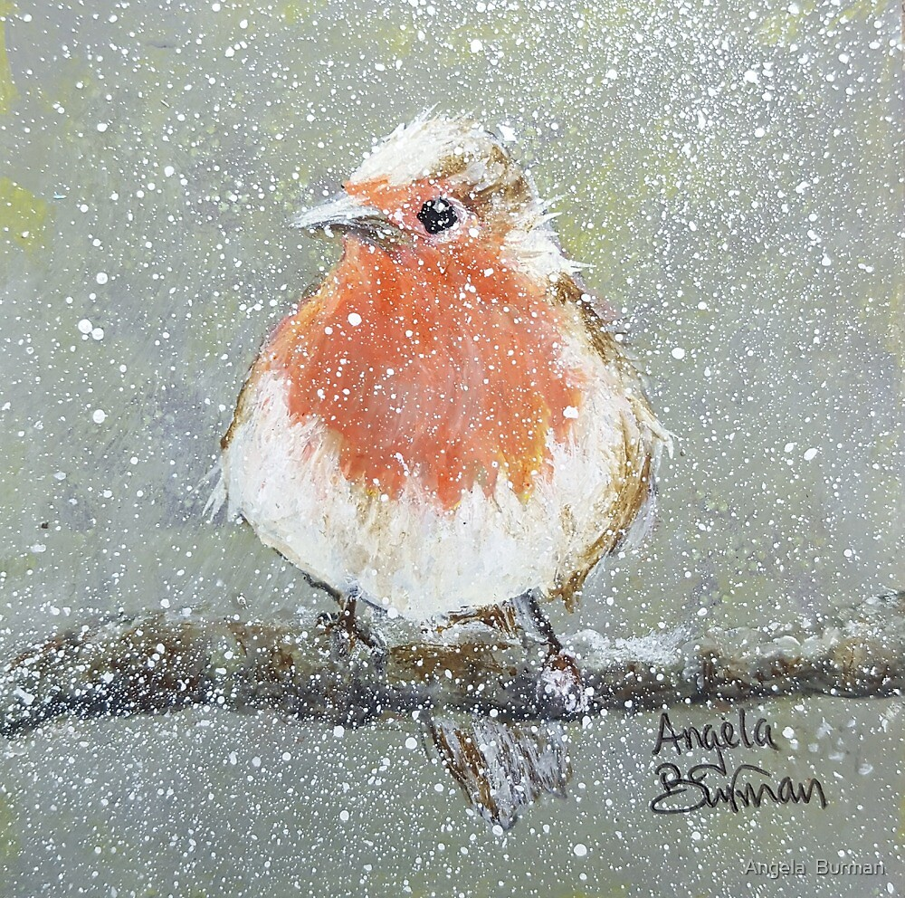 Little Robin by Angela  Burman