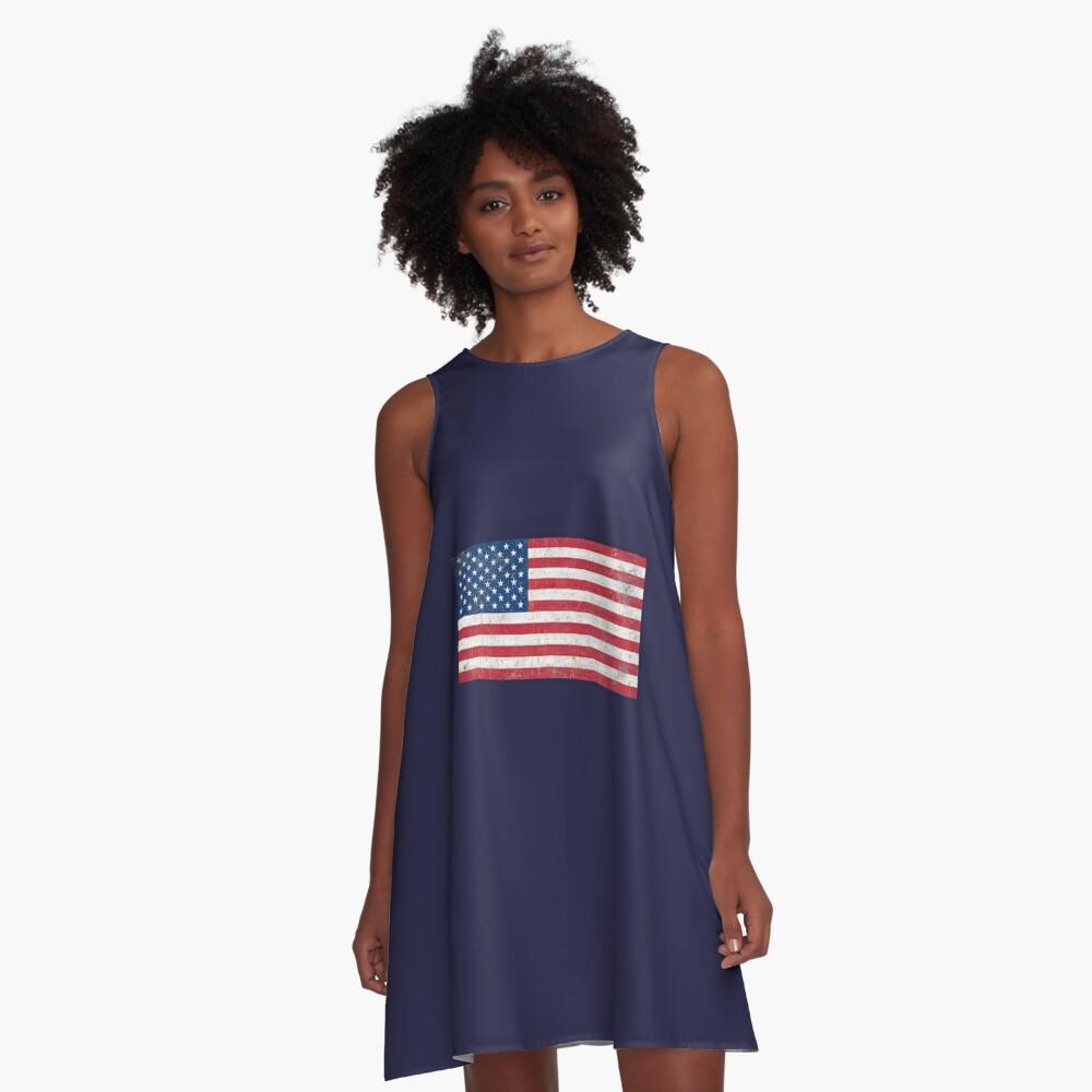 Estados Unidos Vestido acampanado