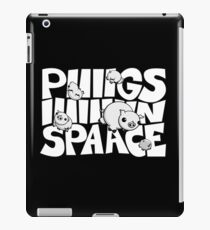 Pigs in Space Illustration iPad Case/Skin