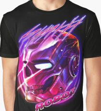 SYNTH ROBOT Graphic T-Shirt