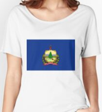 Flag of Vermont Women's Relaxed Fit T-Shirt