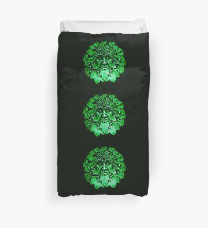 Grüner Mann Bettbezug