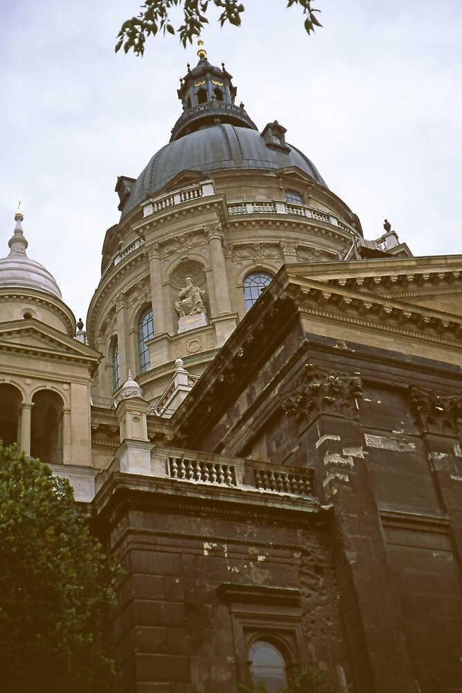 St. Stefan's Cathedral, Pest, Hungary 2001 by Priscilla Turner