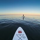 Sunset Paddle boarding  by willgudgeon