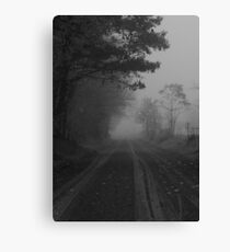 What is this that stands before me? Figure in black which points at me..Turn around quick and start to run..Find out I'm the chosen one Canvas Print