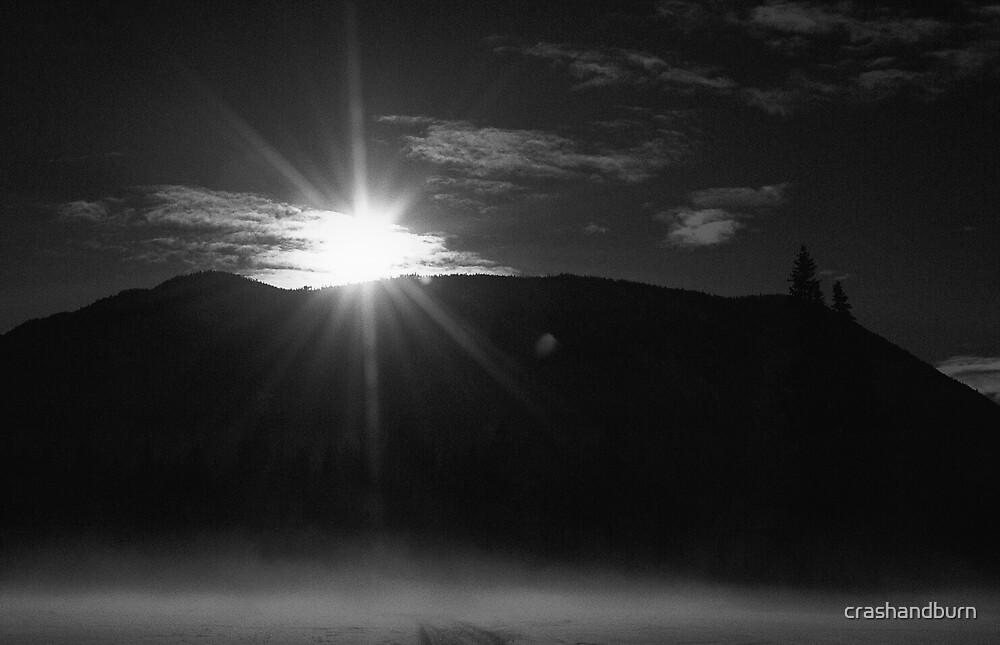 Early Mornin Mist (card series) by crashandburn