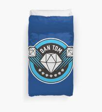 DanTDM Youtube -  The Diamond Minecart Duvet Cover
