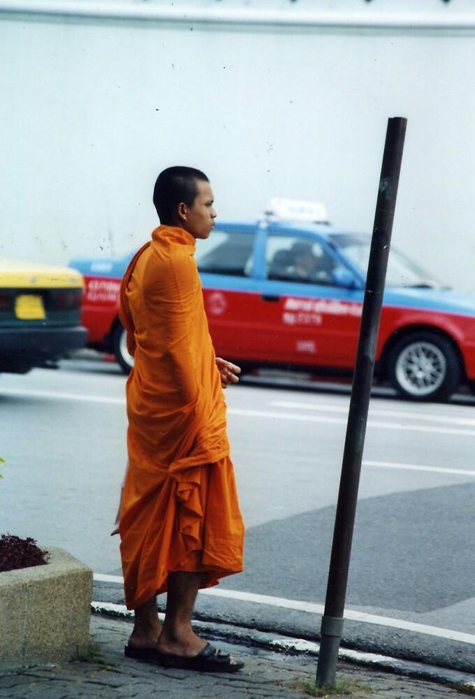 BUDDHIST MONK by oshun25