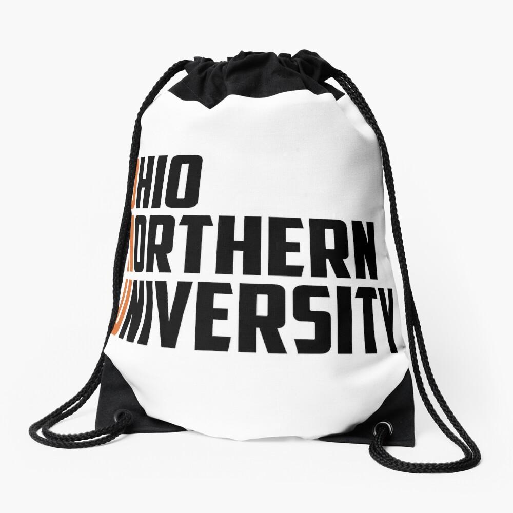 Ohio Northern University Inspired, ONU, Ohio Drawstring Bag