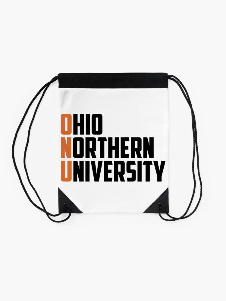 Alternate view of Ohio Northern University Inspired, ONU, Ohio Drawstring Bag