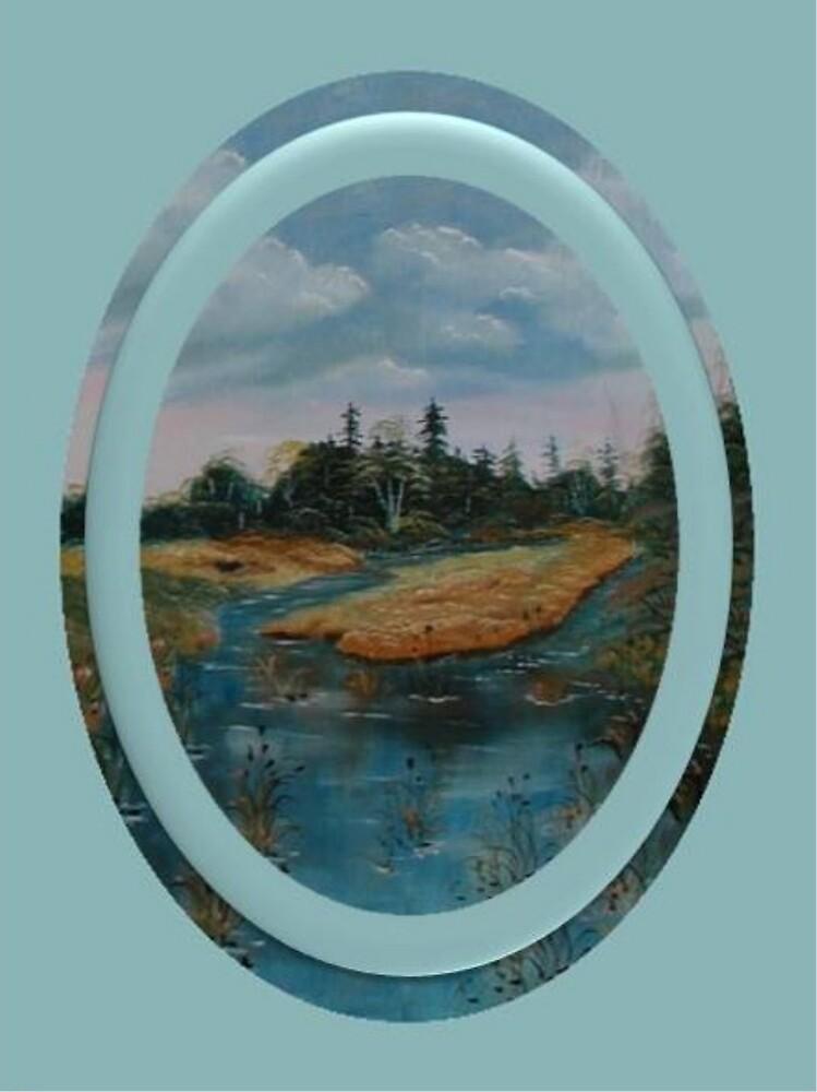 Between two Rivers by Irene Clarke