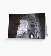 Inside Seaton Deleval Hall Greeting Card