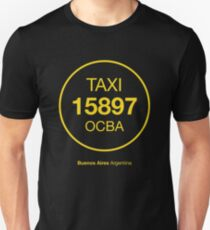 taxi-Buenos Aires-Argentina T-Shirt