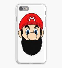 Mario Bros Beard Colors iPhone Case/Skin