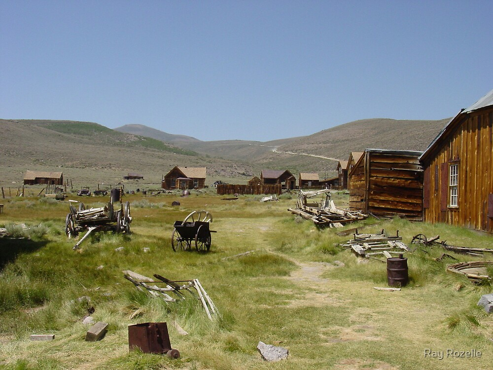 Bodie Ghost Town by Ray Rozelle