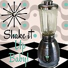 Fifties Kitchen Blender by mindydidit