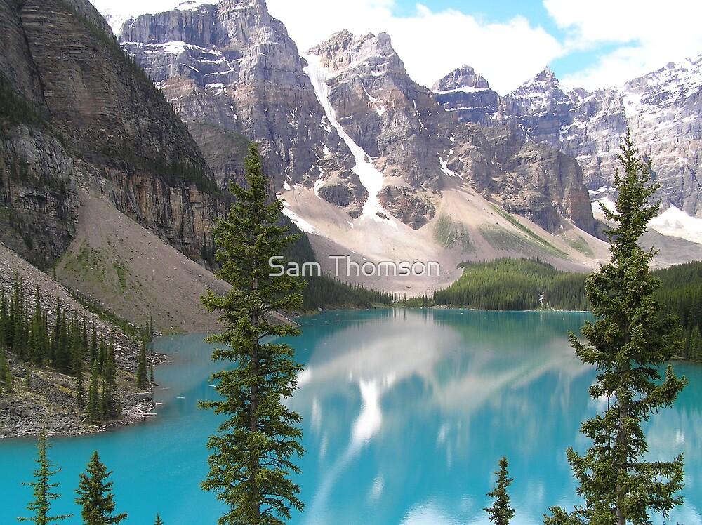 Canadian Rockies by Sam Thomson