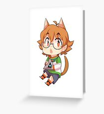 Voltron - Pidge Greeting Card