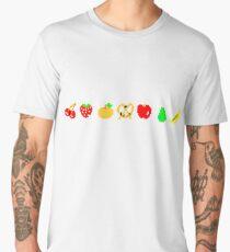 Ms PacMan Fruit Men's Premium T-Shirt