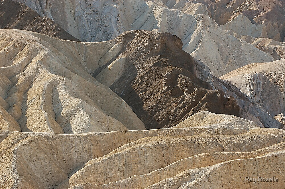 Zabriskie Point / Death Valley by Ray Rozelle