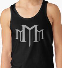 M3 Tactical Medium Gray & Black Men's Tank Top