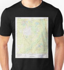 USGS TOPO Map Florida FL Fort Mc Coy 346266 1970 24000 T-Shirt