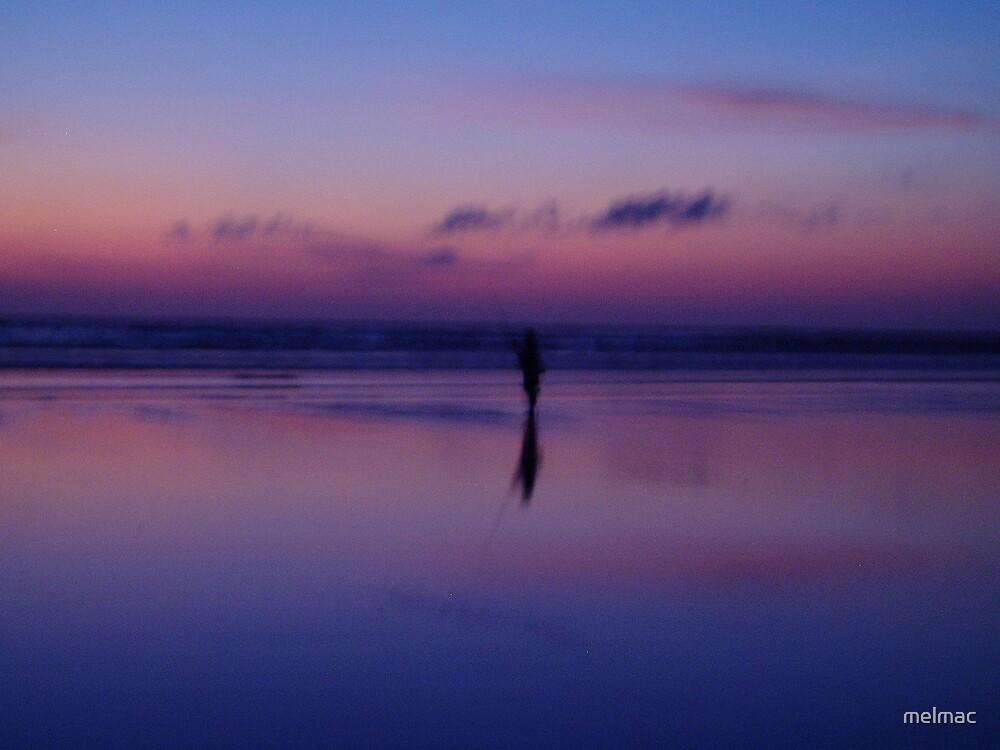 lone fisherman by melmac