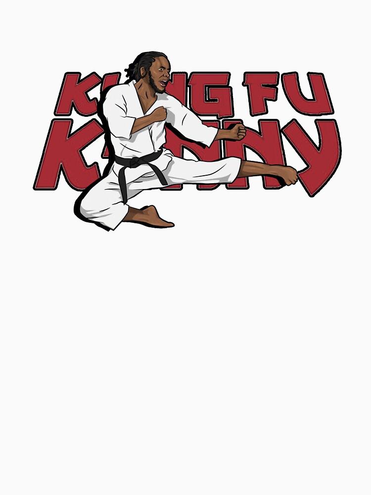 Kendrick Lamar - Kung-fu Kenny by delarivadesigns