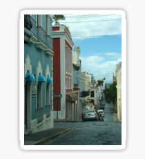 Street Old SJ Sticker