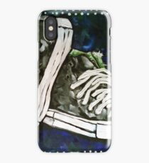 High Top Heaven Converse Canvas Gym Shoes Tennis Running Jogging Basketball Track Sports  iPhone Case