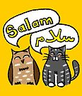 Salam Owl & Cat by Emma Apple