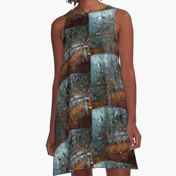 Crystal Clear A-Line Dress