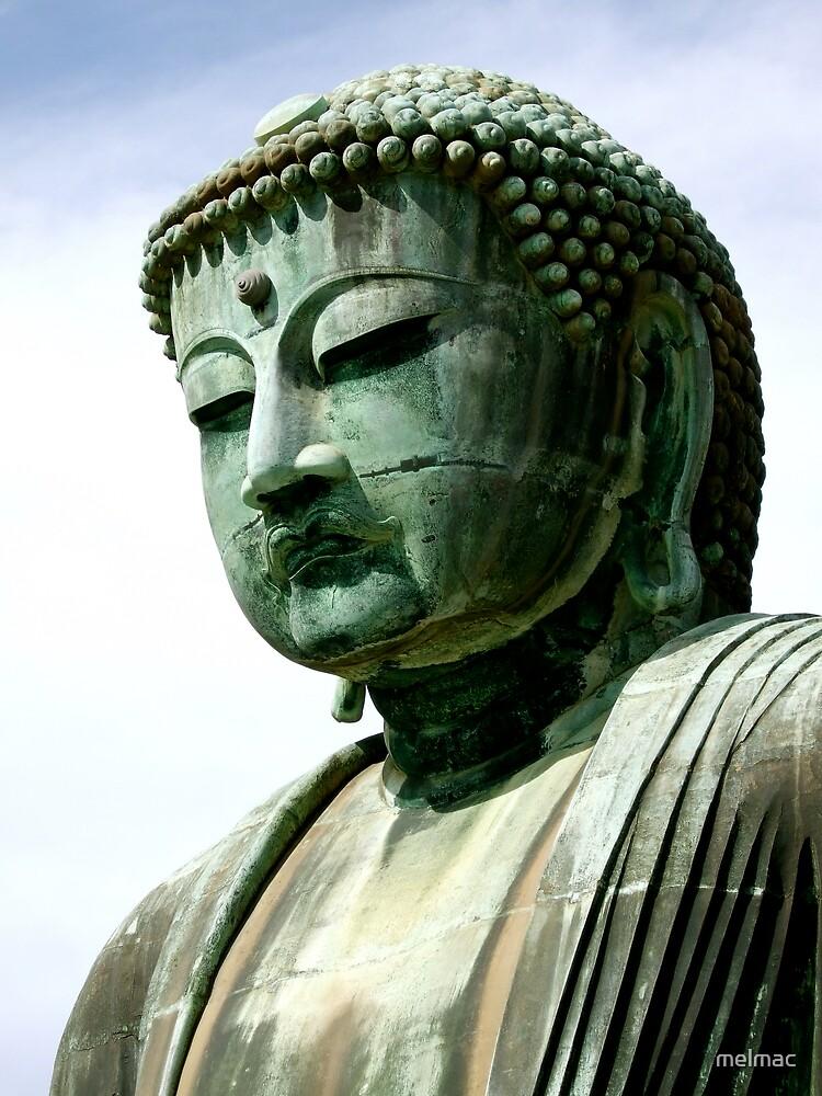 Buddha head Kamakura series1 by melmac