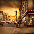 City - Amsterdam NY - The lost city 1941 by Michael Savad