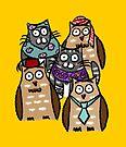 Owl & Cat Diversity by Emma Apple